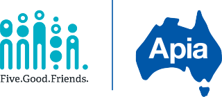 Five Good Friends logo Apia logo