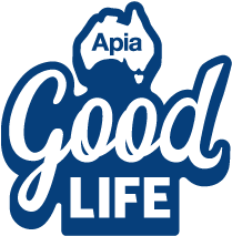Apia Good Life logo